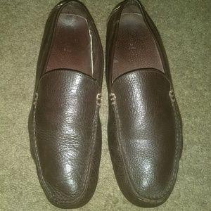 Polo Ralph Lauren Brown Leather Men's Shoe Size 10